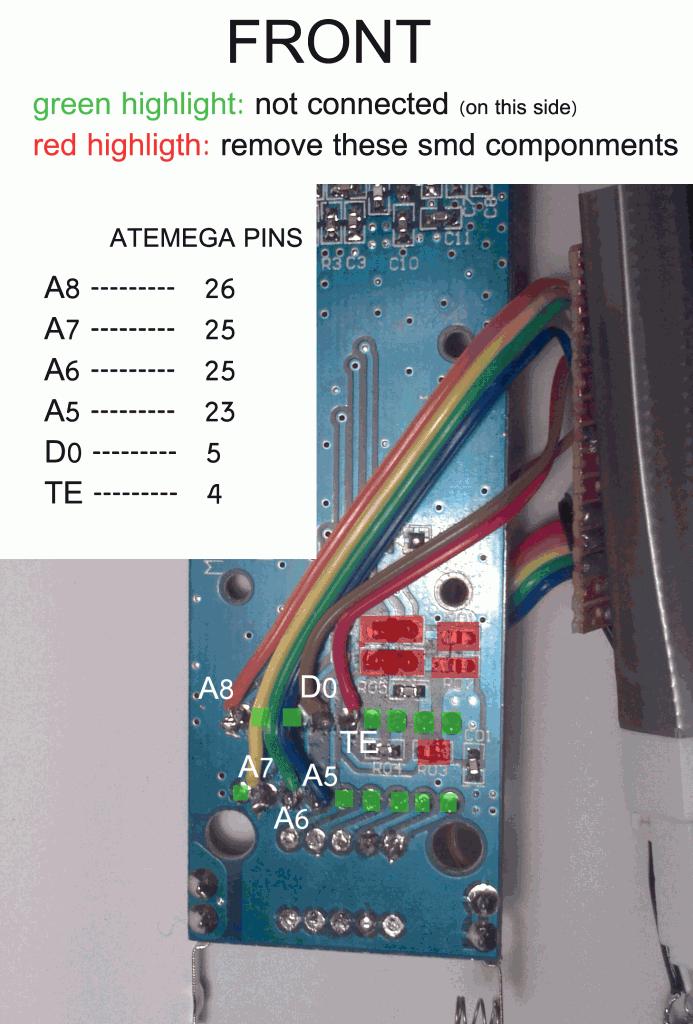 Remote Control Board , Front