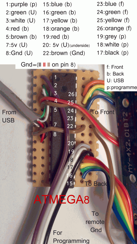 ATMEGA8 wiring diagram